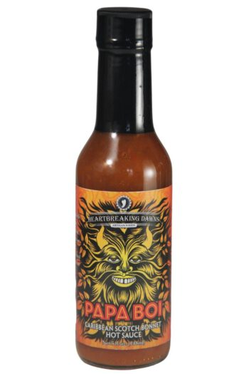 Heartbreaking Dawn's Papa Boi Caribbean Scotch Bonnet Hot Sauce 148ml