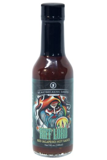Heartbreaking Dawn's Riff Lord Red Jalapeno Hot Sauce 148ml