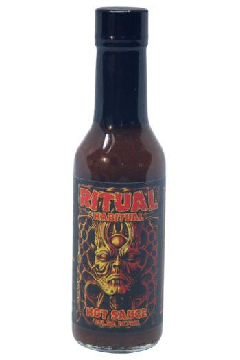 Hellfire Ritual Habitual Hot Sauce 147ml