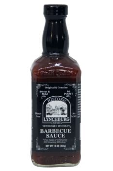 Historic Lynchburg Tennessee Whiskey Sweet & Mild Barbecue Sauce 454g