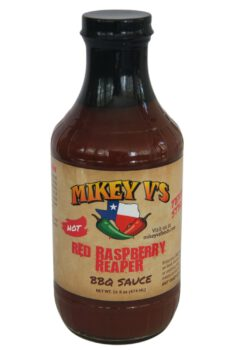 Mikey V's Red Raspberry Reaper BBQ Sauce 474ml