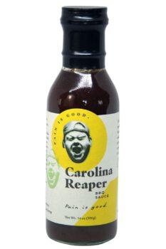 Pain is Good Carolina Reaper BBQ Sauce 396g