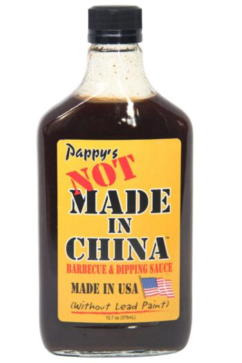 Pappy's Not Made in China! Barbecue & Dipping Sauce 375ml