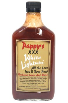 Pappy's XXX White Lightnin' Barbecue Sauce 375ml
