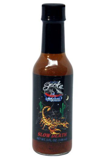 Rising Smoke Sauceworks Slow Death Hot Sauce 148ml