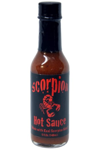 Scorpion Hot Sauce Made With Real Scorpion Meat 148ml