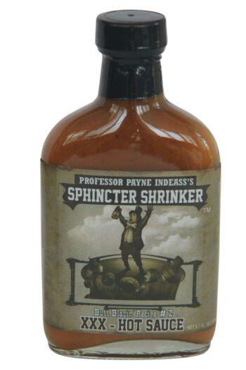 Sphincter Shrinker XXX Hot Sauce 169ml