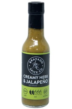 Bravado Spice Co. Creamy Herb & Jalapeno Hot Sauce 148ml