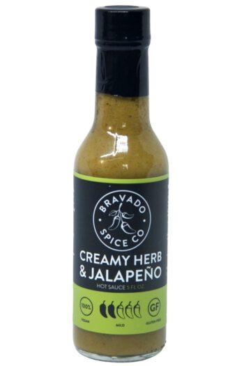 Bravado Spice Co. Creamy Herb & Jalapeno Hot Sauce 148ml