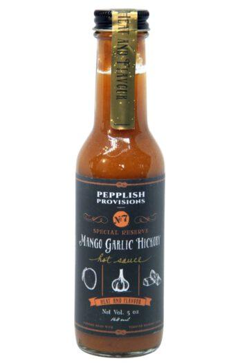 Pepplish Provisions Special Reserve Mango Garlic Hickory Hot Sauce 148ml