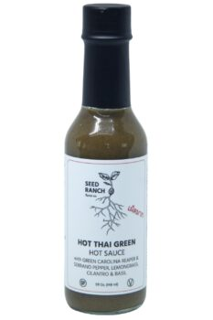 Seed Ranch Flavor Co. Hot Thai Green Hot Sauce 148ml