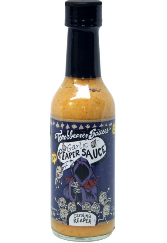 Torchbearer Garlic Reaper Hot Sauce 148ml