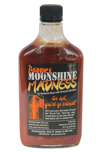 Pappy's Moonshine Madness Barbecue Sauce 375ml