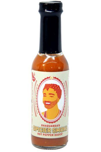 Shaquanda's Spicier Smoke Hot Pepper Sauce 150ml