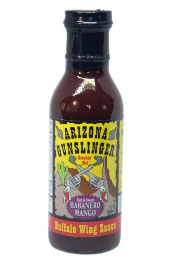 Arizona Gunslinger Habanero Mango Buffalo Wing Sauce 354ml
