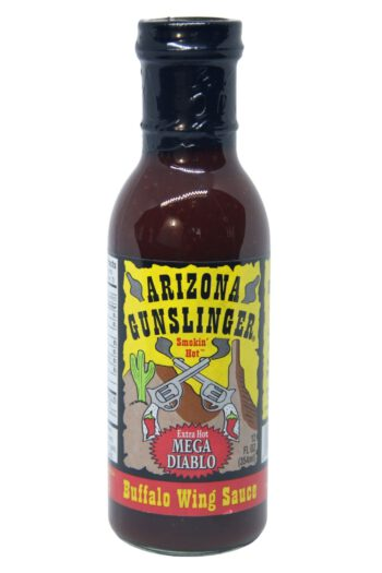 Arizona Gunslinger Mega Diablo Buffalo Wing Sauce 354ml