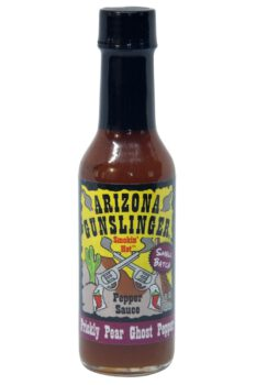 Arizona Gunslinger Prickly Pear Ghost Pepper Sauce 148ml