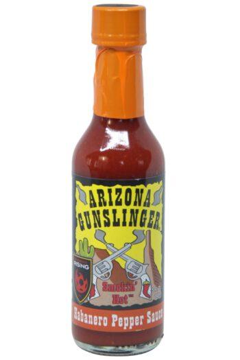 Arizona Gunslinger Smokin' Hot Habanero Pepper Sauce 148ml