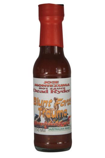 Jose Montezuma Dead Ryder Blunt Force Trauma Chilli Sauce 150ml