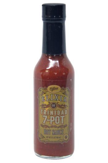 CaJohn's Elixir of Trinidad 7-Pot Hot Sauce 148ml