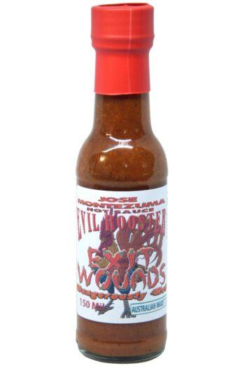 Jose Montezuma Evil Rooster Exit Wounds Hot Sauce 150ml