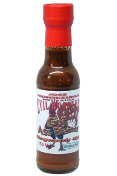 Jose Montezuma Evil Rooster Goji Ass Blaster Hot Sauce 150ml