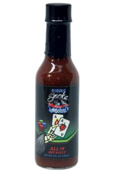 Rising Smoke Sauceworks All In Hot Sauce 148ml
