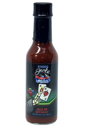 Rising Smoke Sauceworks All In Hot Sauce 148ml