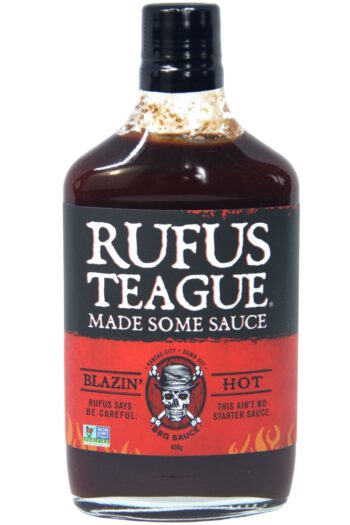 Rufus Teague Blazin' Hot BBQ Sauce 454g