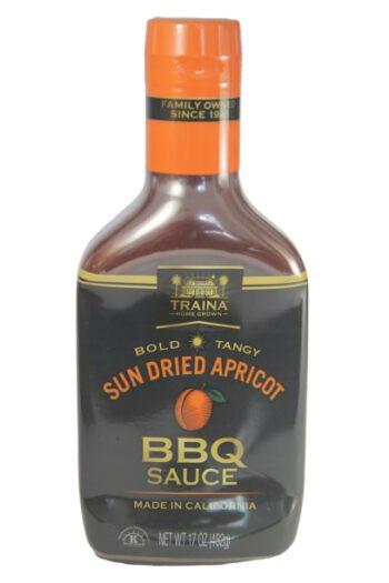 Traina Sun Dried Apricot BBQ Sauce 482g