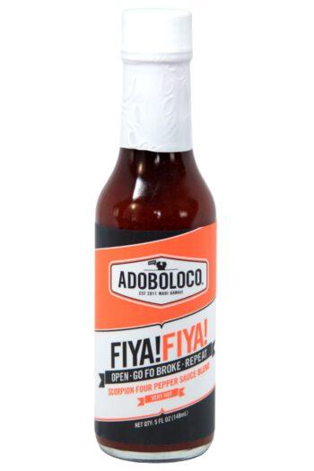 Adoboloco Fiya! Fiya! Hot Sauce 148ml