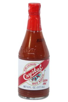Crystal Extra Hot Louisiana Hot Sauce 177ml