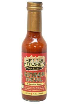 Hell's Kitchen Ginger Devil Hot Sauce 148ml