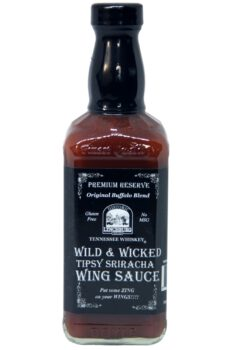 Historic Lynchburg Tennessee Whiskey Wild & Wicked Tipsy Wing Sauce 454g