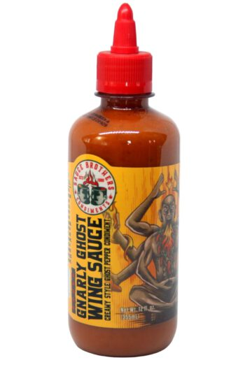 Sauce Brothers Gnarly Ghost Wing Sauce 355ml