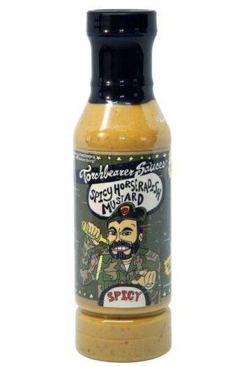 Torchbearer Spicy Horseradish Mustard 340g
