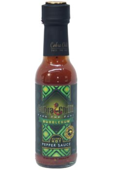 Cobra Chilli Bubblegum Ultra Hot Pepper Sauce 150ml