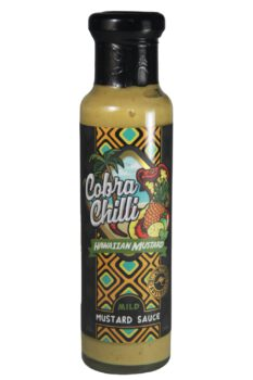 Cobra Chilli Hawaiian Mustard Mild Mustard Sauce 250ml