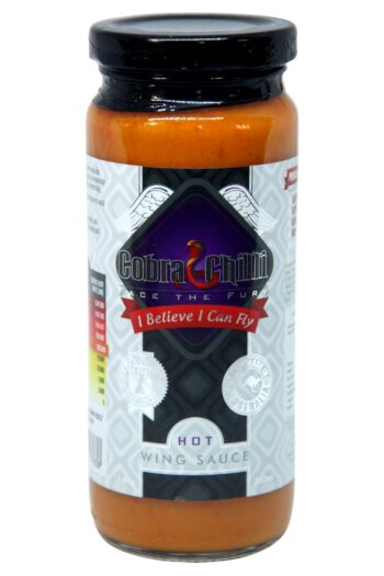Cobra Chilli I Believe I Can Fly Hot Wing Sauce 350ml