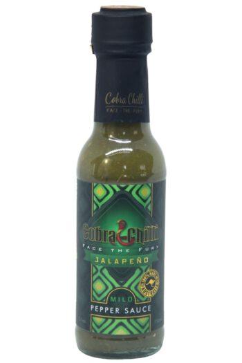 Cobra Chilli Jalapeño Mild Pepper Sauce 150ml (Best By 29 June 2021)