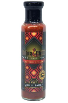 Cobra Chilli Torrid Affair Ultra Hot Chilli Sauce 250ml
