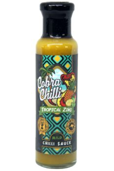 Cobra Chilli Tropical Zing Mild Chilli Sauce 250ml