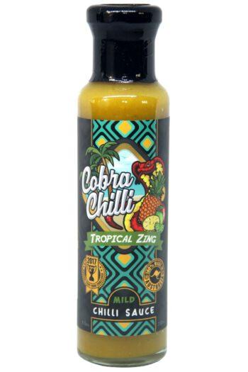 Cobra Chilli Tropical Zing Mild Chilli Sauce 250ml