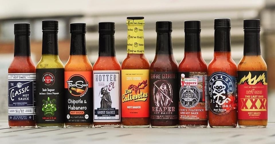 Hot Ones Season 12 Lineup
