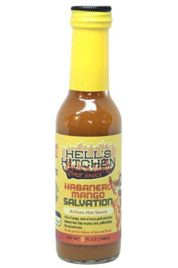 Hell's Kitchen Habanero Mango Salvation Hot Sauce 148ml