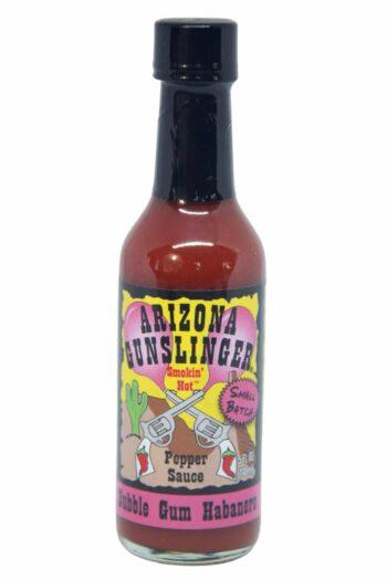 Arizona Gunslinger Bubble Gum Habanero Pepper Sauce 148ml