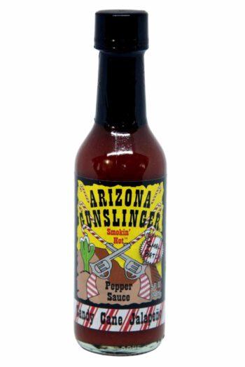 Arizona Gunslinger Candy Cane Jalapeno Pepper Sauce 148ml