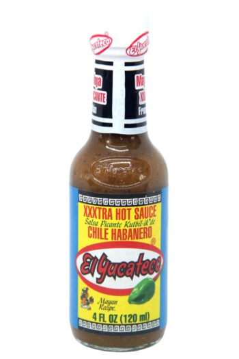 El Yucateco XXXtra Hot Kutbil-ik Habanero Hot Sauce 120ml