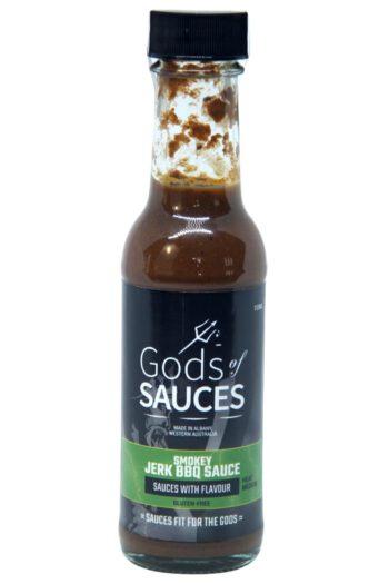 Gods of Sauces Smokey Jerk BBQ Sauce 150ml (Best By 19 July2021)