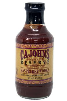 CaJohn's Mesquite Smoked Raspberry Vodka BBQ Sauce 474ml